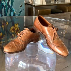 Ralph Lauren Brown Oxford Shoes Made in England